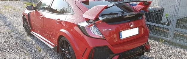 """Z serii """"Ostatnio sfinansowane"""" – nowa Honda Civic Type-R GT"""