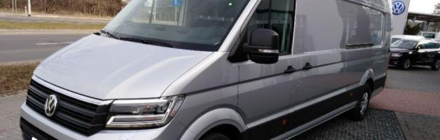 """Z serii """"Ostatnio sfinansowane"""" – nowy VW Crafter"""