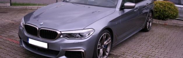 """Z serii """"Ostatnio sfinansowane"""" – BMW M550i"""