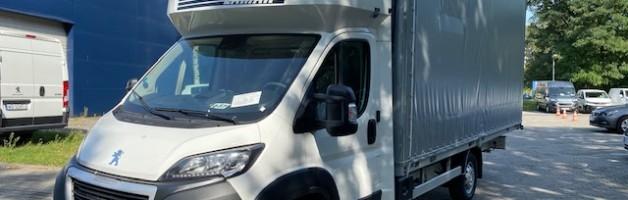 Ostatnio sfinansowane – flota samochodów dostawczych