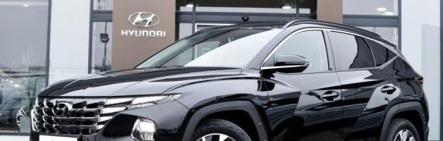 Nowy Hyundai TUCSON Benzyna 1.6 150 KM 6-bieg. M/T 2WD SMART 2021
