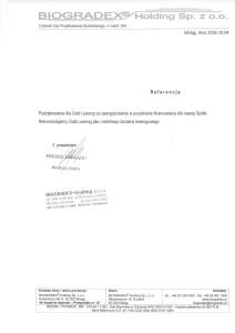 Biogradex Holding