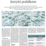 Leasing a korzyści podatkowe